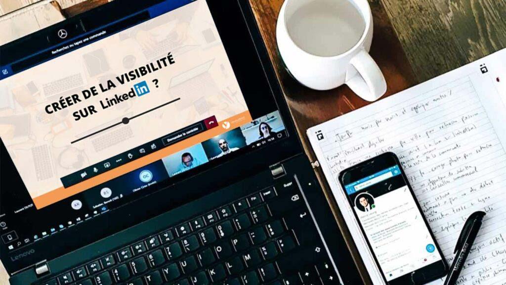 Créer de la visibilité sur LinkedIn