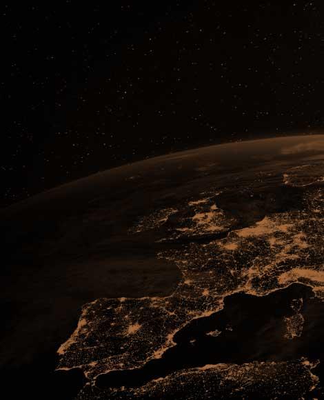 Europe vue de l'espace