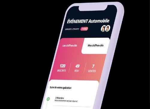 Consultation des BAT sur l'interface mobile d'UpYourSoft