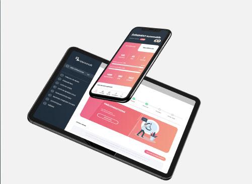 Logiciel de gestion UpYourSoft web et mobile