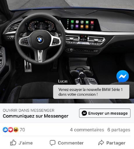 Campagne Facebook personnalisé par Ekonsilio