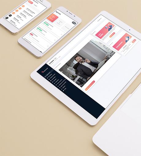 Contenus de formation sur l'application mobile & web UpYourSoft