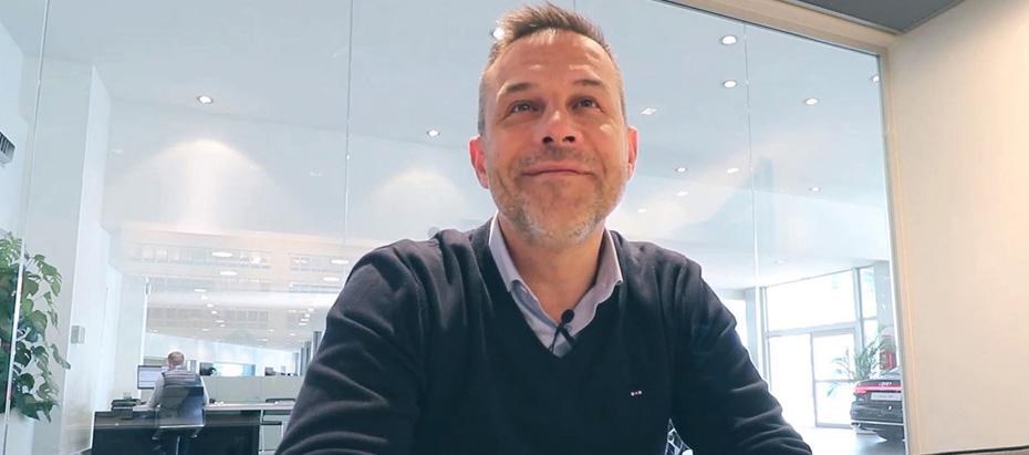 Damien Kostyrka directeur de la concession Audi à Caen