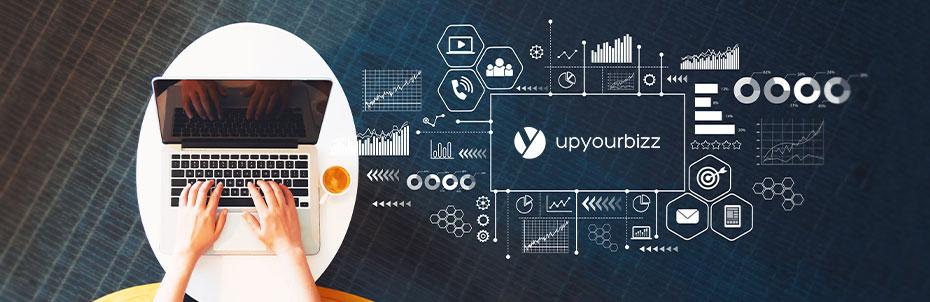 Schéma marketing digital UpYourBizz