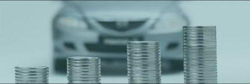 Pièces de monnaie pour la reprise du véhicule