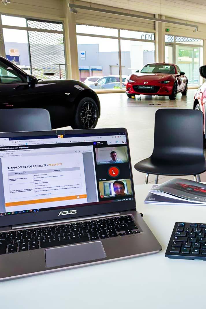 Mazda cherche à avoir de la visibilité sur LinkedIn