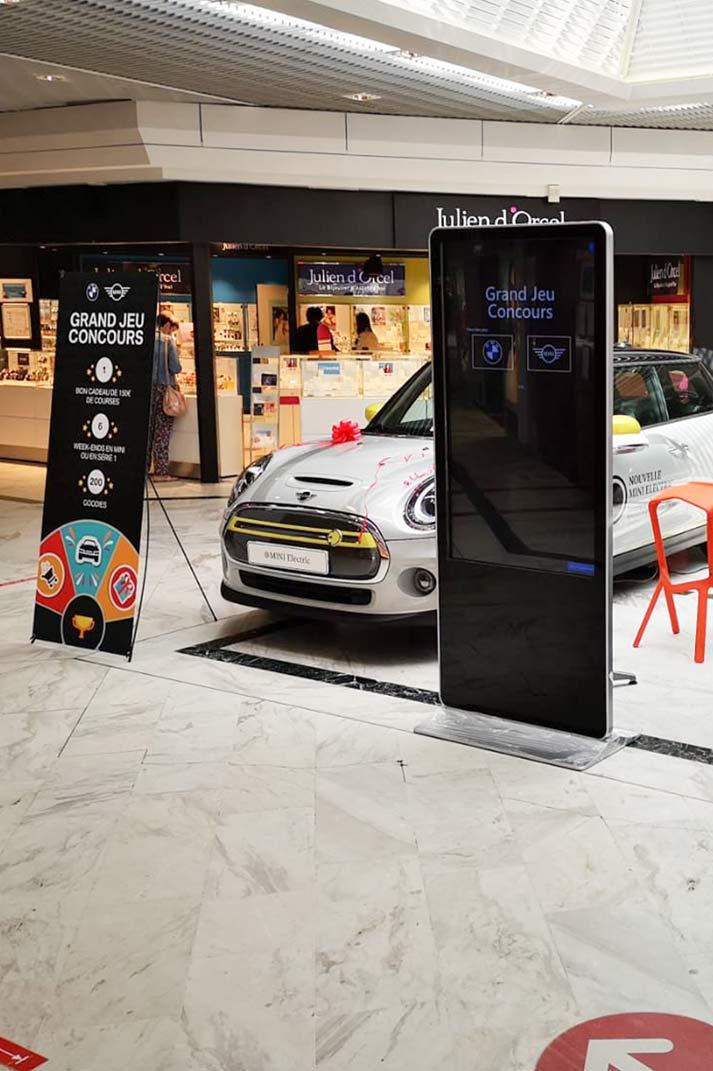 Solution Pop-up Ephémère au centre commercial
