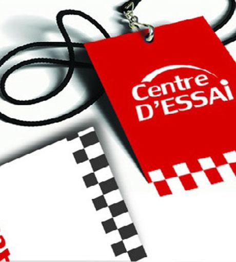 Badge d'accès au Centre d'Essai Driving