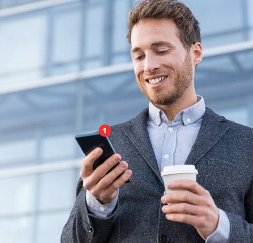 Un vendeur reçoit une notification