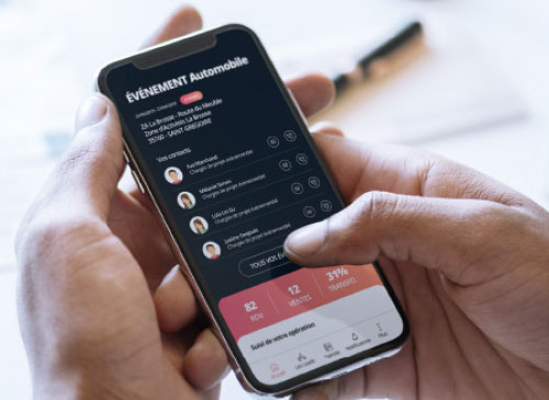 Reporting détaillé des leads sur application mobile UpYourSoft