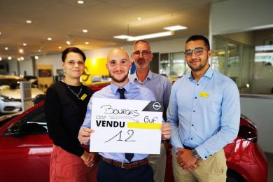 Les vendeurs de la concession de Bourges ont fait 12 ventes