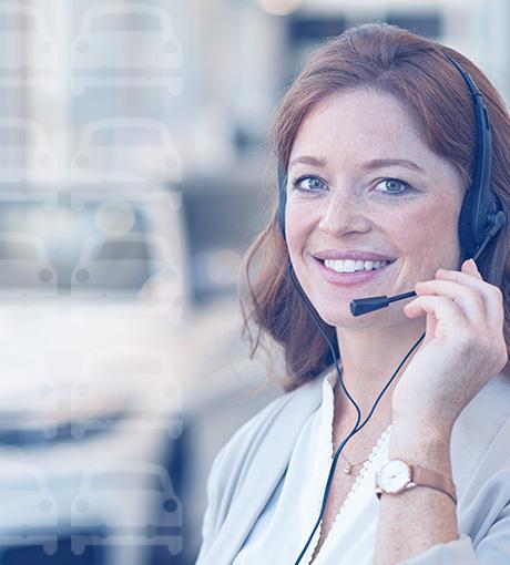 Une téléconseillère experte de la relation client