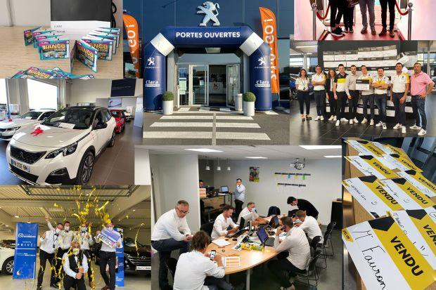 Évènement concession avec Peugeot, Renault et Opel