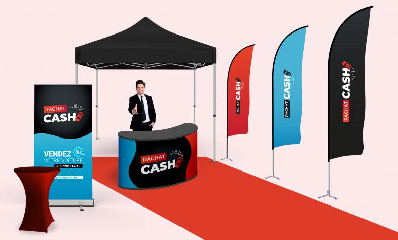 PLV de l'opération commercial Rachat Cash
